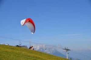 Gleitschirmfliegen Schwarzwald bei der Flugschule Airpower