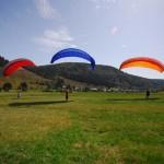 Gleitschirmfliegen im Schwarzwald mit AirPower
