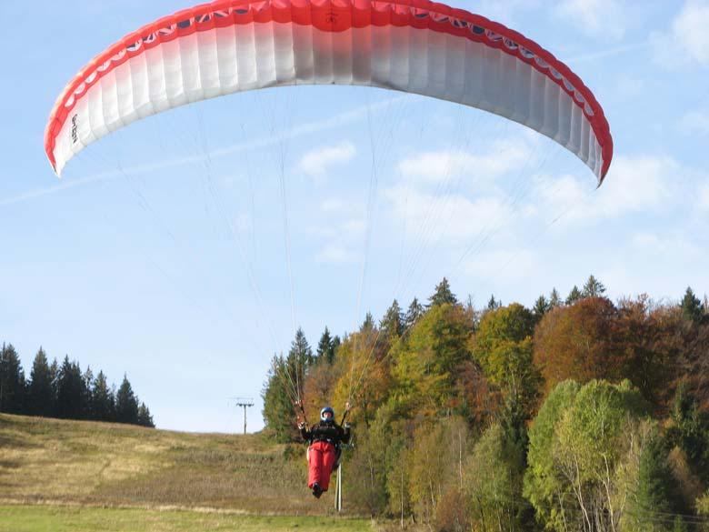 Gleitschirmfliegen im Schwarzwald Flugschule Airpower