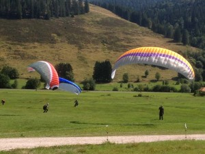 Grundkurs Gleitschirmfliegen bei der Flugschule AirPower im Schwarzwald