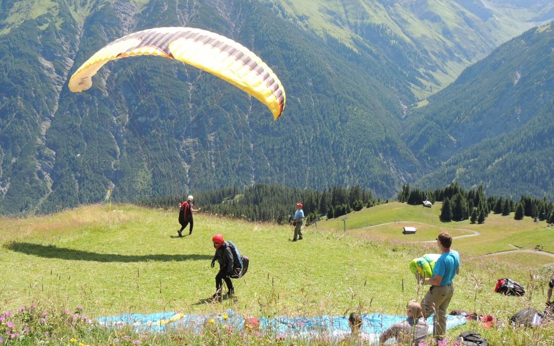 Höhenausbildung im Lechtal – in Bach
